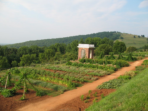 vegetables gardens virginia farms crops charlottesville monticello pavilions thomasjefferson gazebos vegetablegardens