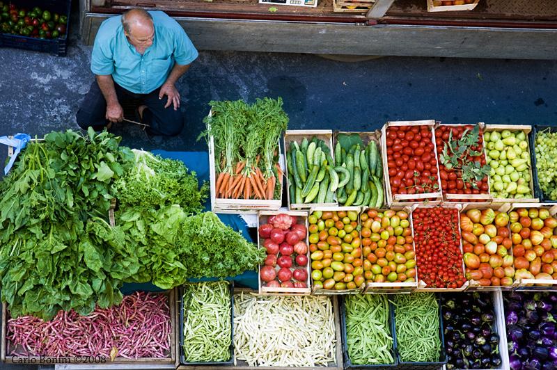Monday's market