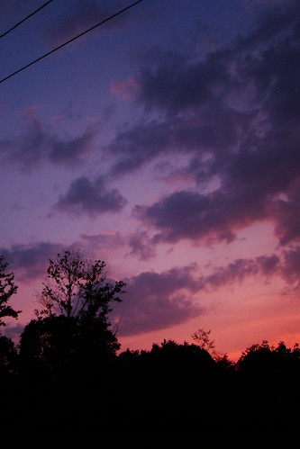pink blue sunset twilight purple