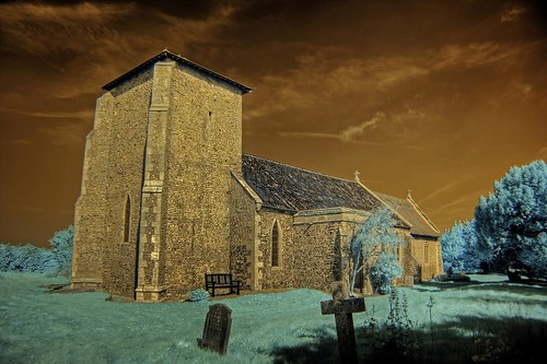 Infrared All Saints church Crostwight Norfolk | by Brokentaco