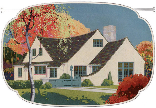 1925 English Cottage Color | by American Vintage Home