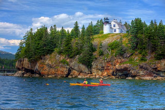 Acadia National Park, Bear Island Lighthouse