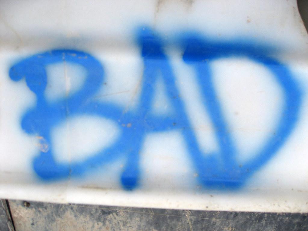 Bad Spraypaint type