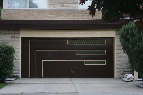 Midcentury garage door   by repowers
