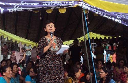 Dr Renu Rajbhandari | by WOREC Nepal