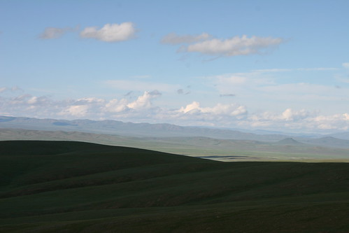 panorama mountains clouds mongolia rivers roads steppes valleys orkhon arkhangayaimag ogiynuursum orkhongol orkhonriver orkhonrivervalley