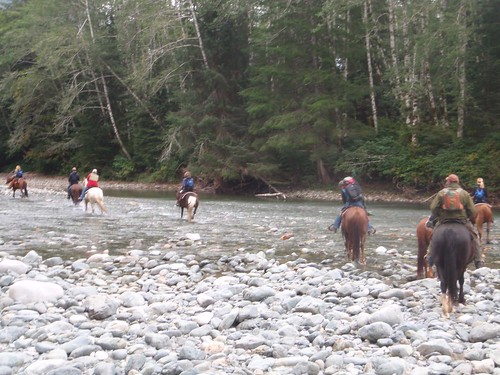 Horseback Riding Bedwell River