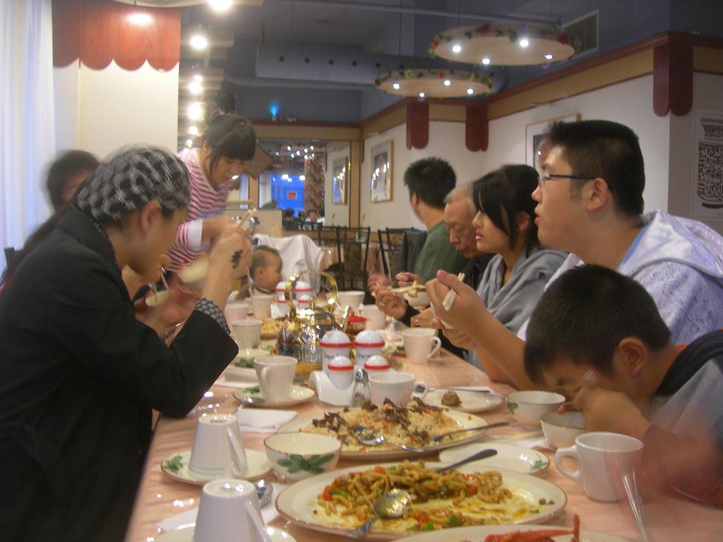 Eid Al-Fitr Dinner, Xinjiang Uyghur Restaurant Halal, 1883