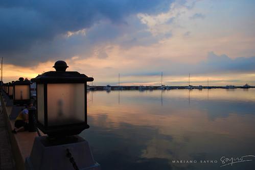 sunset bay nikon yacht famous philippines manila mariano pasay baywalk d60 sayno marboysayno husayno