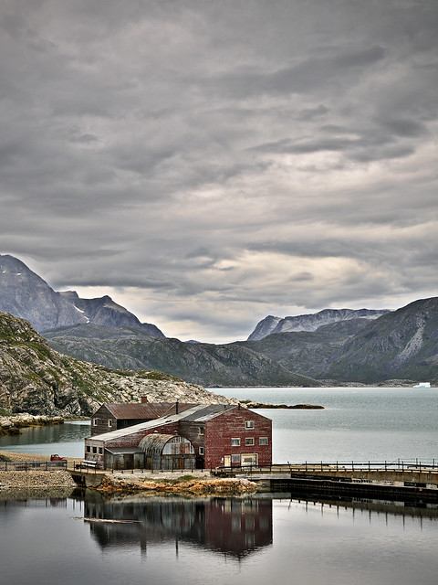 The old mine in Ivittuut, Greenland