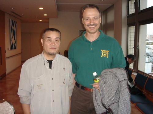Meeting Uematsu Yoshiyuki Sensei   by Mark Tankosich