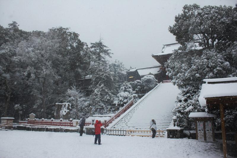 雪の鎌倉_19