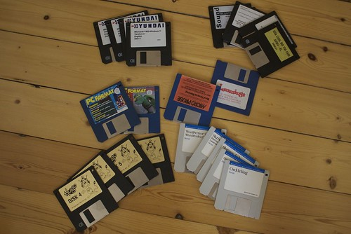 Old Floppies | by gromgull