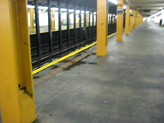 early a.m. subway