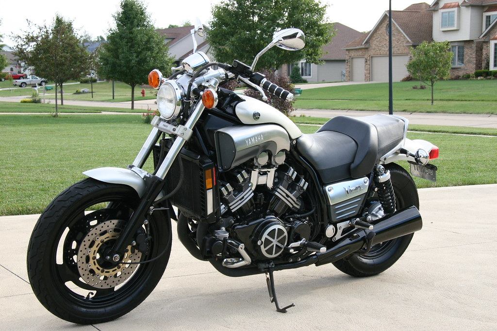 My 1997 Yamaha Vmax   I love this bike to death  It'll run w