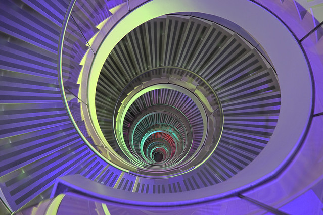 Psychedelic Staircase...