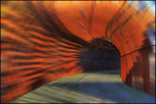 rusty tunnel   by Wolfgang Staudt