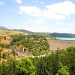 Barrage Ghrib - vue generale