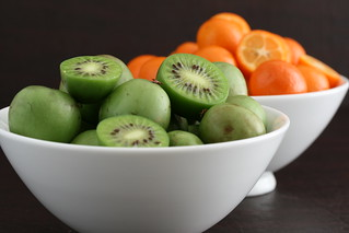 Bowls of Hardy Kiwis and Kumquats | by Sunday Nite Dinner