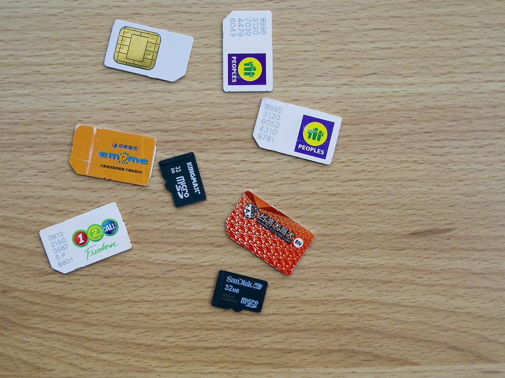 Sim Cards | My collection of old sim cards. I suppose I shou… | Flickr