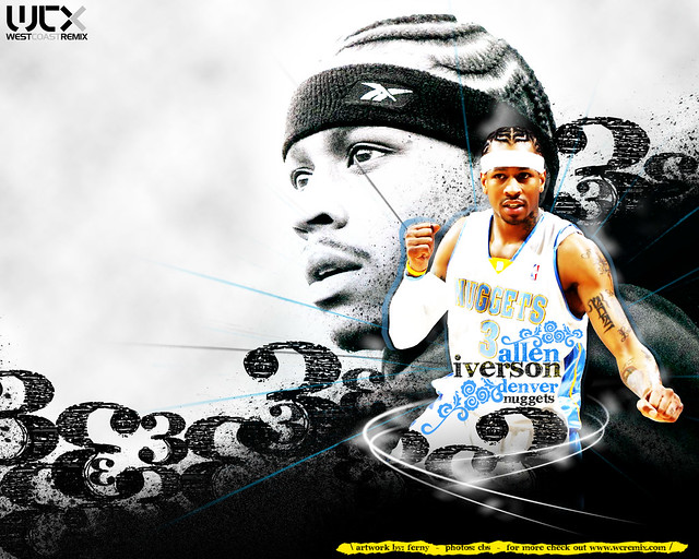 Allen Iverson Wallpaper Nuggets 2 Allen Iverson Wallpaper
