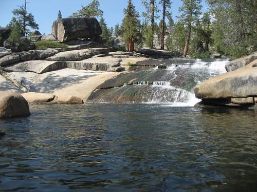Granite Slide swimming hole, Bear Valley