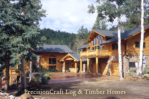 pictures wood homes house mountain home design log cabin colorado floor photos timber plan frame custom plans architects luxury cabins milled precisioncraft