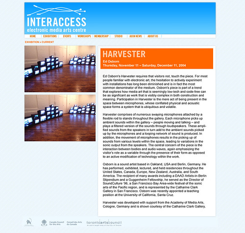 InterAccess Website | by emenel