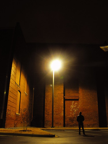 light lamp up standing dark looking always staring solitary lightpost isolated drab alwayslookingup