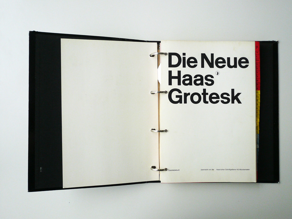 Neue Haas Grotesk | rallovallo | Flickr