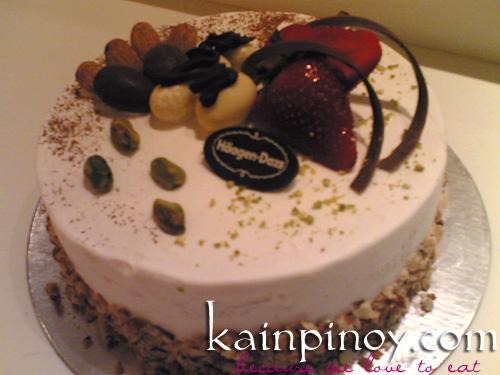 Fine Haagen Dazs Ice Cream Cake 01 Kainpinoy Com 2008 05 Haagen Flickr Personalised Birthday Cards Akebfashionlily Jamesorg