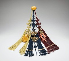 Decorative pendant (Samjak norigae) | by Smithsonian National Museum of Natural History