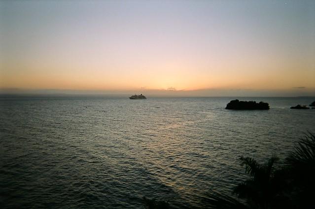 Sunset in Samana