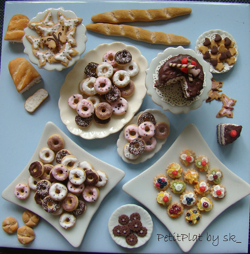 miniature food en masse | by PetitPlat - Stephanie Kilgast