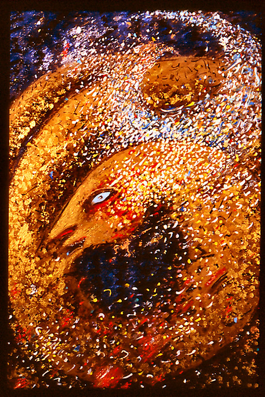 Prana 720 pdi oil painting 1992