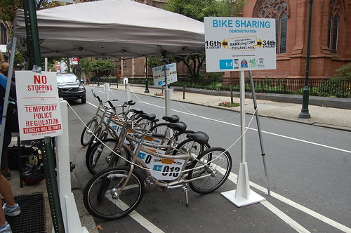 2008 Parking Day  (16) | by Philly Bike Coalition