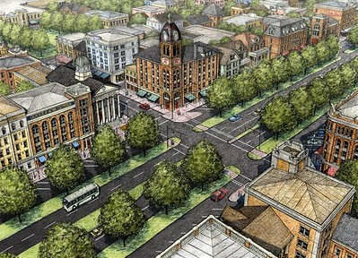 A revisioned Rockville Pike, Montgomery County, Maryland