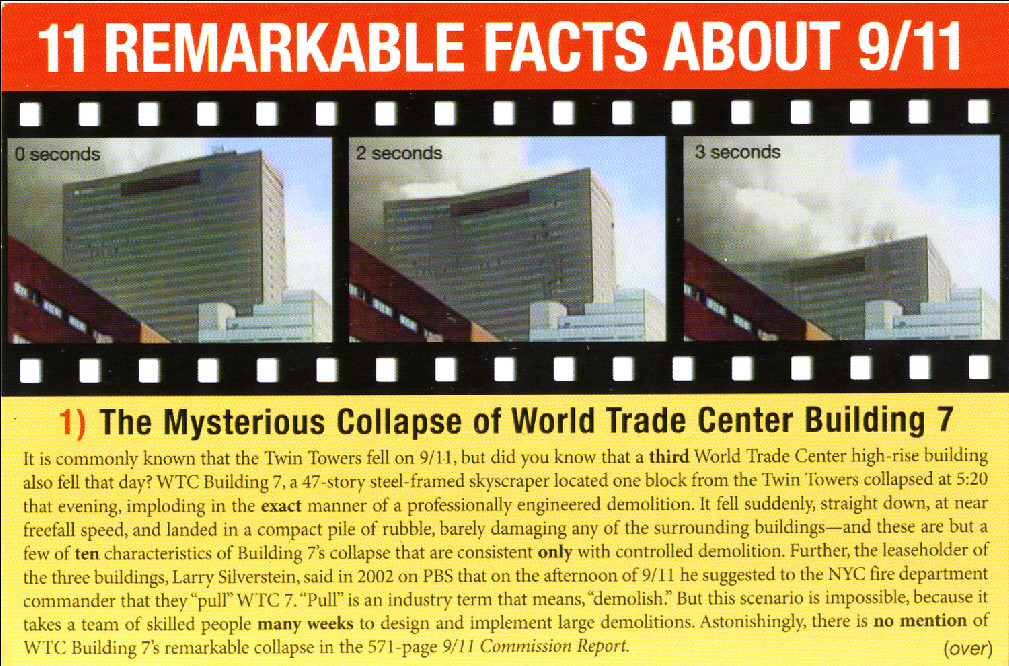 The Mysterious Collapse of WTC Building 7