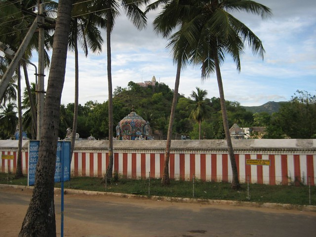 View of Subramanya Swamy Temple from Renugambal Temple 1