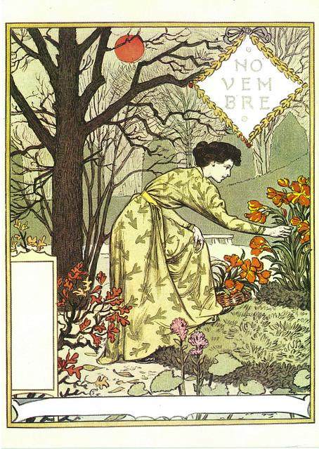 """Eugène Grasset """"La Belle Jardinière"""" 1896 Novembre"""