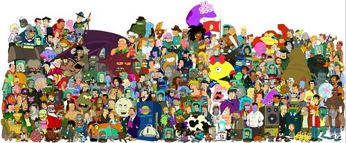 Futurama Cast | by Chunker.