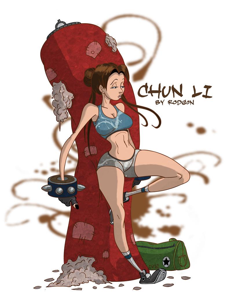Final Chun Li Copy Rod Gon The Artist Flickr