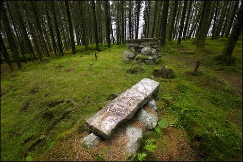 Famine Grave - Kilronan Mountain, Ballyfarnon