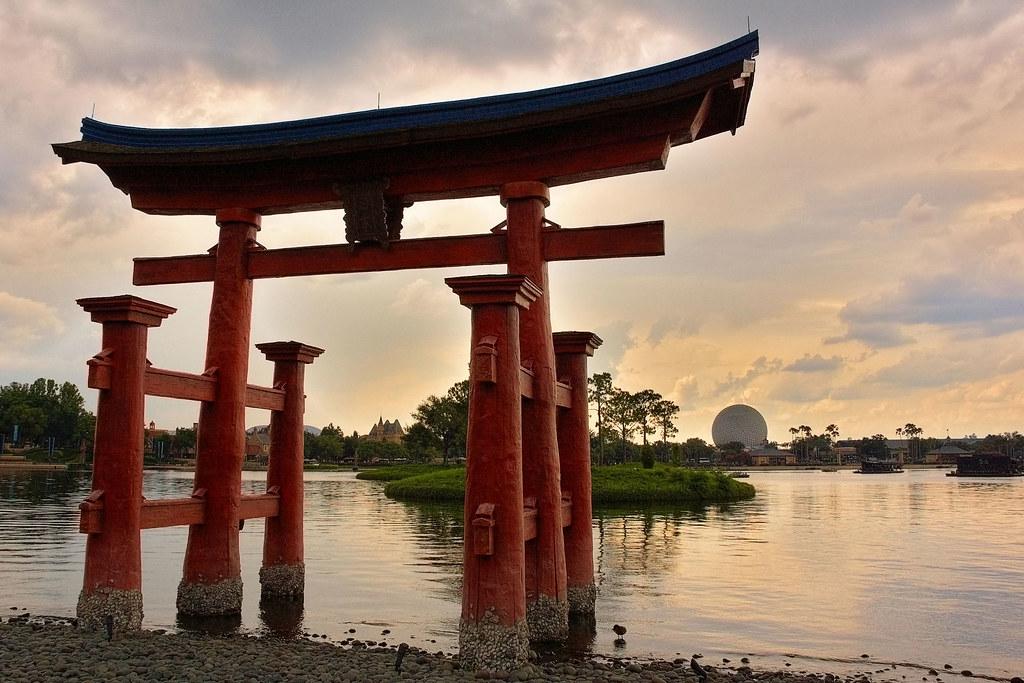 Disney - Epcot Torii Gate