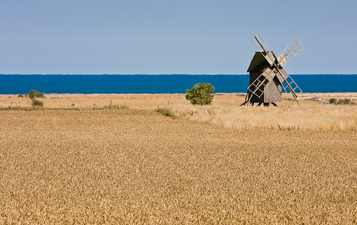 windmill by the sea on öland | by Stefan Sundkvist