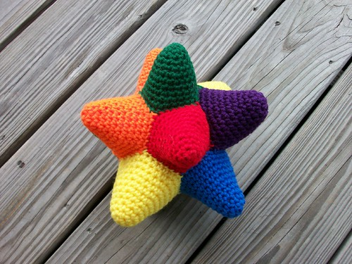 Colorful Toy Doo-Dad | by Wednesday Elf - Mountainside Crochet