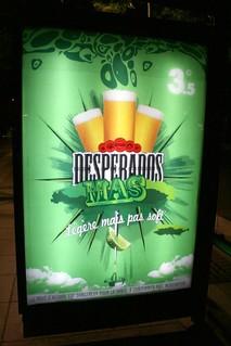 Desperados Beer Advert In Strasbourg France This Was Some Flickr