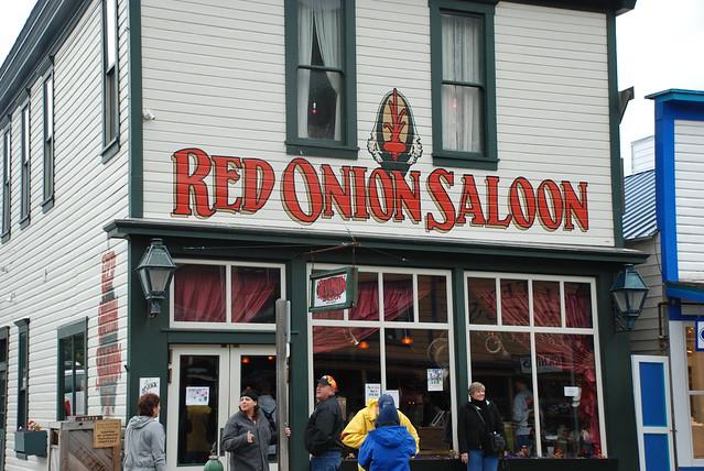 Red Onion Saloon Sagway Alaska