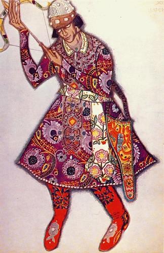 L'Oiseau de Feu - 1910 - costume du tsarévitch (Michel Fokine)