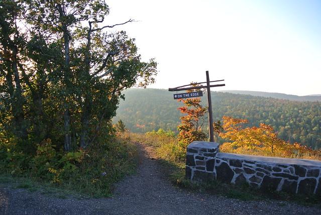 Sunrise on the trails